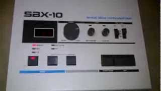 roland sbx 10 sync box