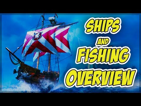 Archeage Unchained: Ships And Fishing Overview
