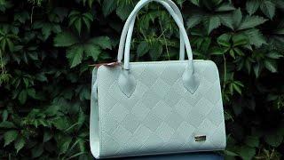 Белая каркасная сумка в моде 2016 года(Отличная вместительная сумка, каркасная модель 2016 года. http://styleline-opt.com/zhenskie-sumki-optom-ves-assortiment-i-modeli-fabriki-style-line/791-..., 2016-06-10T08:19:06.000Z)