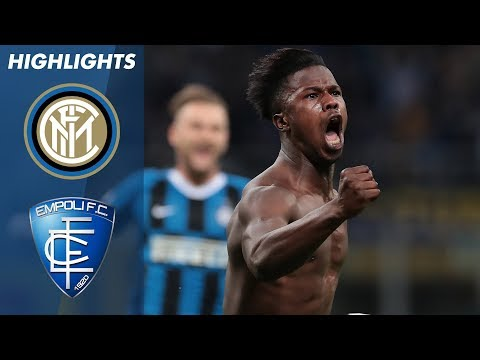 Inter 2-1 Empoli | Inter Secure 4th Whilst Sending Empoli Do
