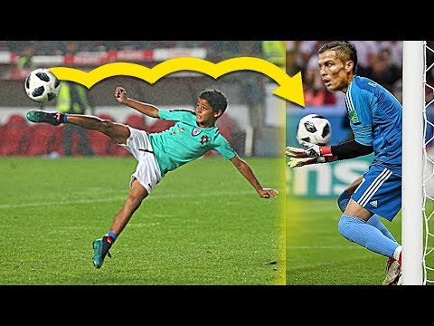KIDS IN FOOTBALL 2018 - BEST VINES, FUNNY FAILS, SKILLS, GOALS
