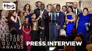 This is Us: Press Interview | 24th Annual SAG Awards | TBS
