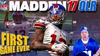 Madden 17 Online Ranked - FIRST GAME SKUNK?(Madden NFL 17 Online Ranked Game. New York Giants vs New York Jets. My very first game online. Top 10 Playlist: ..., 2016-09-13T21:18:24.000Z)