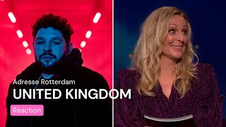 Norwegian TV about the UK's Eurovision song   James Newman - Embers   Eurovision Song Contest 2021