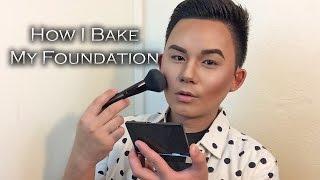 how i bake my foundation   laura mercier loose setting powder translucent