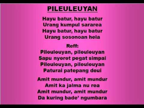 Lagu dan Tari Nusantara: PILEULEUYAN - Lagu Anak
