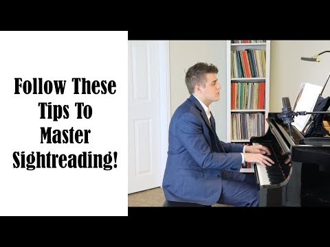 Want To Master Sightreading? Use This Simple Strategy - Josh Wright Piano TV