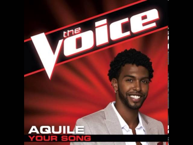"Aquile: ""Your Song"" - The Voice (Studio Version)"