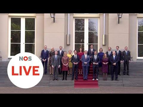 LIVE: Beëdiging kabinet Rutte III