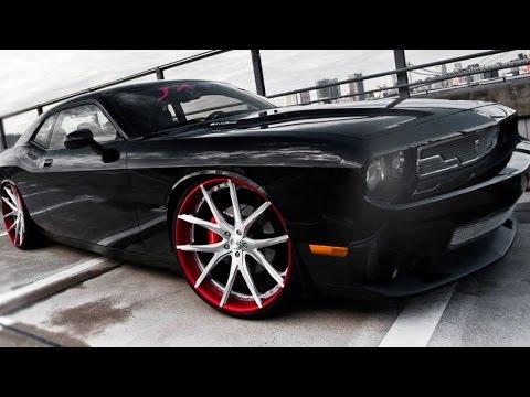 Dodge Challenger SRT8 on Custom Lexani Forged 102 Wheels