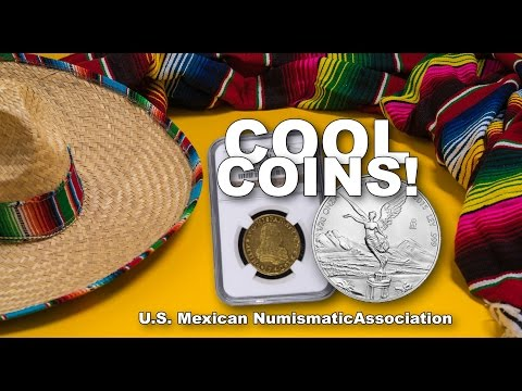CoinWeek: Cool Coins! US Mexican Coin Convention 2015. VIDEO: 19:04.