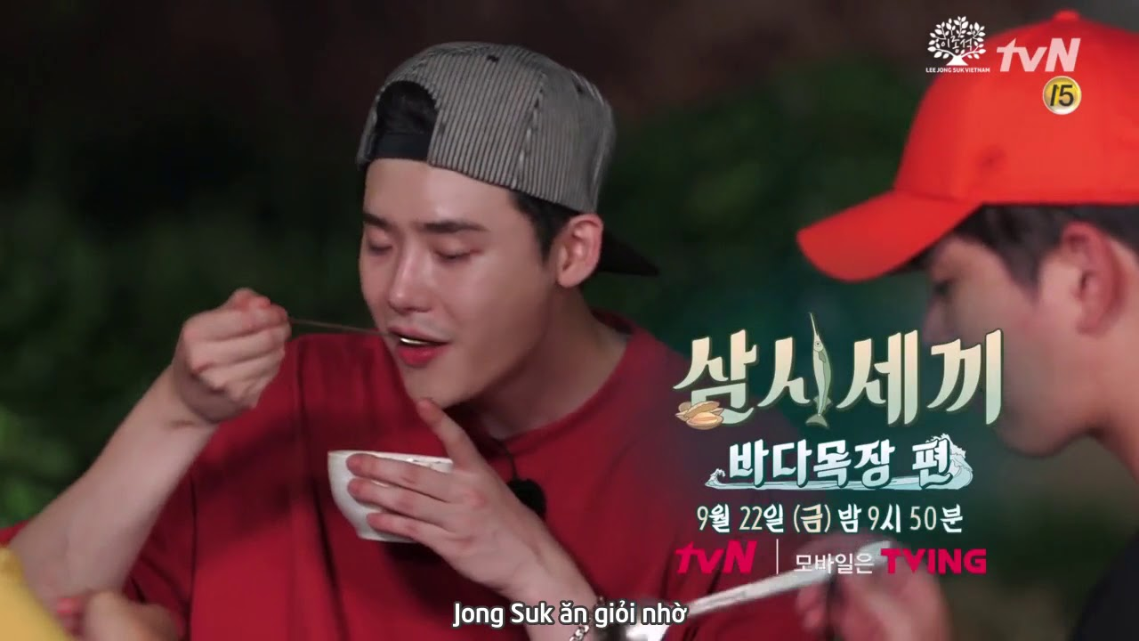[Vietsub][LJSVN] 17o918 Lee Jong Suk - Ngày Ba Bữa Prerelease