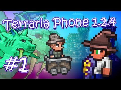 видео: lp. terraria phone 1.2.4 #1 (НАКОНЕЦ-ТО НОВОЕ ОБНОВЛЕНИЕ!!!)