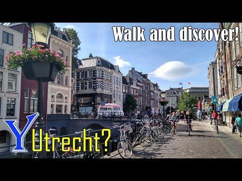 Why travel to Utrecht? Walking in Utrecht, Netherlands