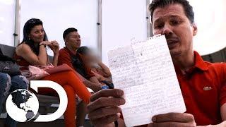 Sospechosos de ser víctimas de tráfico de personas | Control de fronteras | Discovery Latinoamérica