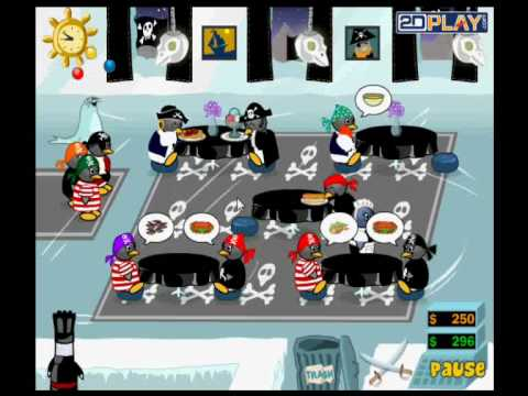 Penguin Diner 2 - Time to raise the Jolly Roger !
