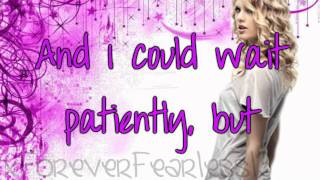 Taylor Swift - Sparks Fly; Lyrics
