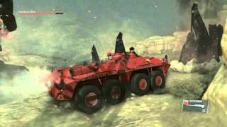 MGS5:TPP [EXTREME]サヘラントロプス Sランク 装甲車で3分