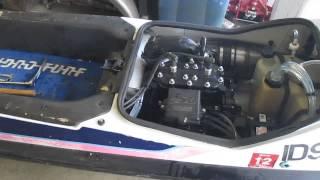 1989 kawasaki sx 650 stand up jet ski