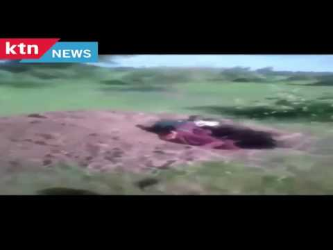 A video of purportedly UPDF soldiers executing Kasese civilians emerge