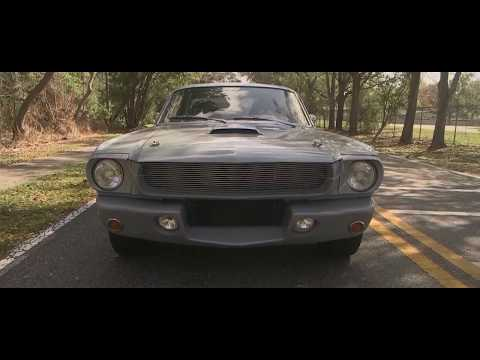 1965 Ford Mustang Cinematic