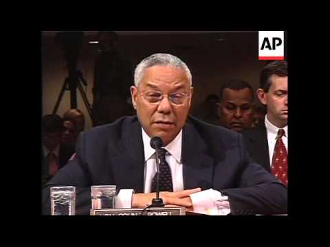 Powell says genocide committed in Darfur