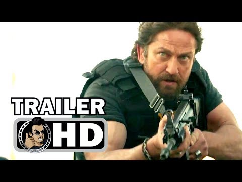DEN OF THIEVES   2018 50 Cent, Gerard Butler Action Movie HD