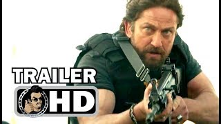 DEN OF THIEVES Official Trailer (2018) 50 Cent, Gerard Butler Action Movie HD