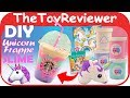 SLIME!! DIY Unicorn Frappe Starbucks Frappuccino HoshimiSlimes Unboxing Toy Review by TheToyReviewer