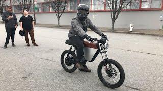 ONYX Motorbikes RCR Demo Day SF 01.19.2019 [Production Bike]