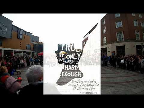 Urban Flow Street Dance Flash Mob Exeter for Nightstop Devon 9/12/17