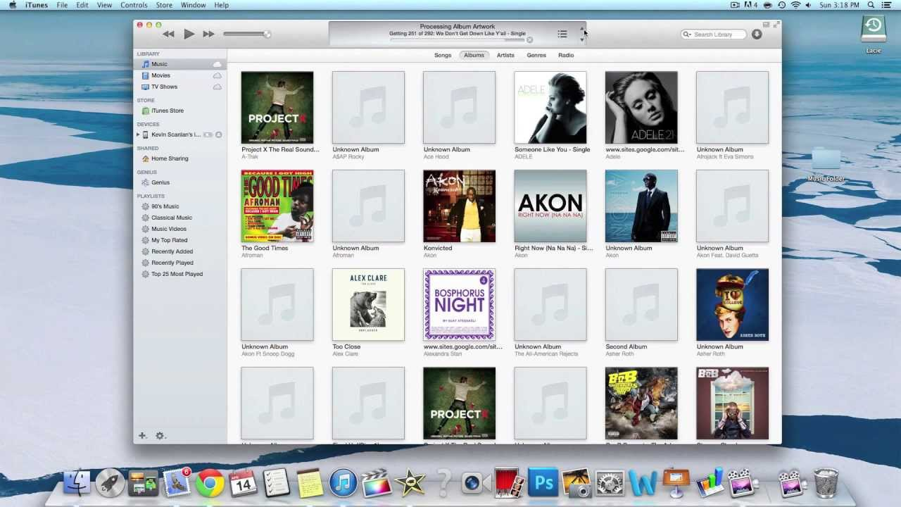 how to download non itunes music