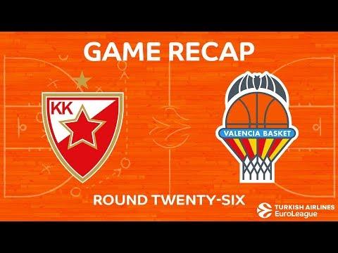 Highlights: Crvena Zvezda mts Belgrade - Valencia Basket
