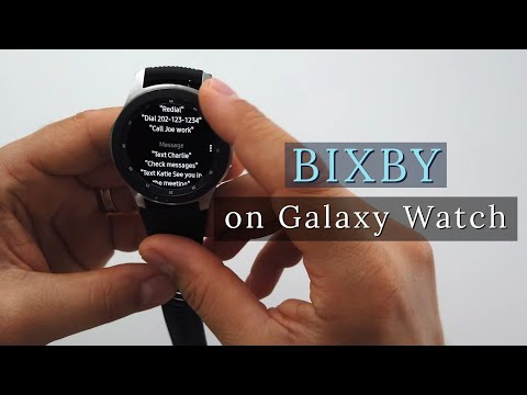 Bixby On Samsung Galaxy Watch