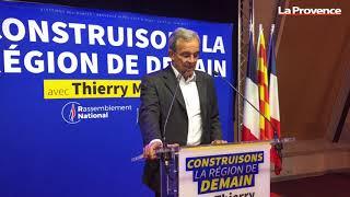Réaction Thierry Mariani, candidat du Rassemblement National