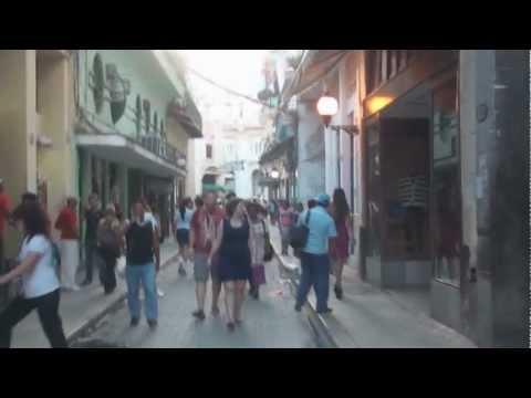 walking in the streets of Havana, Cuba, 2013