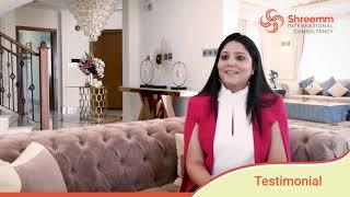 Shreem International Consultancy - Monica Testimonial