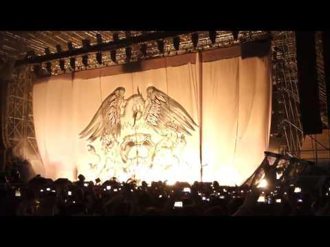 Queen + Adam Lambert - Intro / Flash's Theme / The Hero [25.06.2016 Padova, Italy]