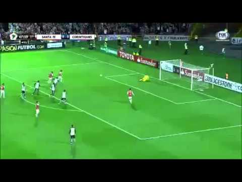 Melhores momentos Gols Santa Fé 1x1 Corinthians