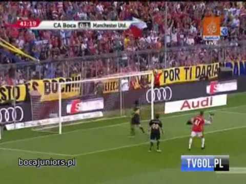 Primer Gol de Antonio Valencia en el Manchester United