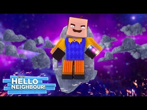 Minecraft Hello Neighbour - THE NEIGHBOUR & THANOS TEAM UP! w/TinyTurtle