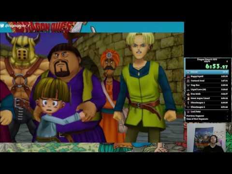 Dragon Quest 8 (3DS) speedrun in 8:39:57