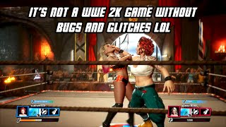 It's not a WWE 2K game without Bugs & Glitches LOL - WWE 2K Battlegrounds Glitch