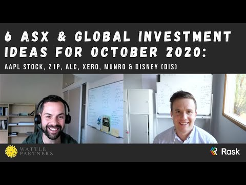 6 expert investment ideas for October 2020: AAPL stock, Z1P, ALC, Xero, Munro & Disney (DIS)