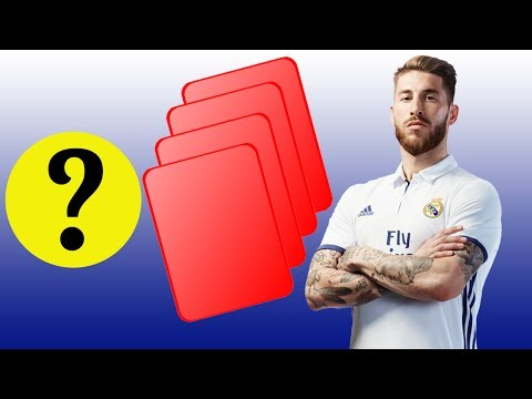 TOP 10 Players Who Received The Most Red Cards