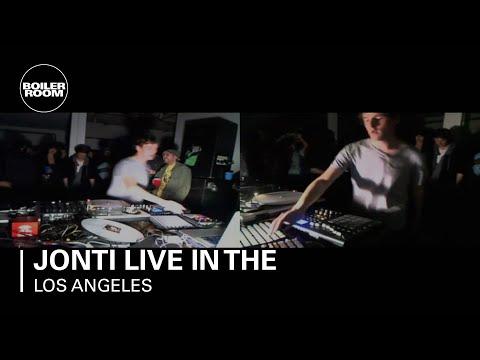 Jonti live in the Boiler Room Los Angeles
