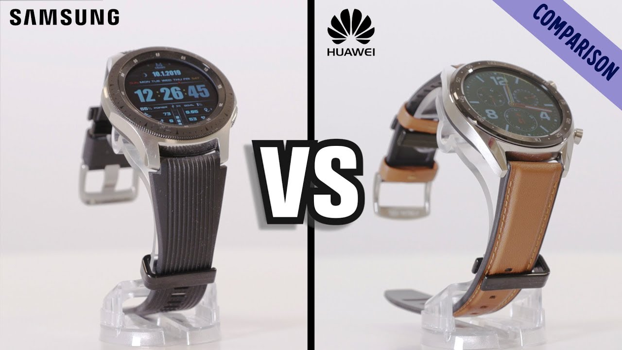 TEST: Samsung Galaxy Watch vs  Huawei Watch GT