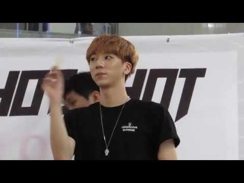 150705 Gimpo Fansign -- HOTSHOT's Timoteo (pointless fancam of him existing)