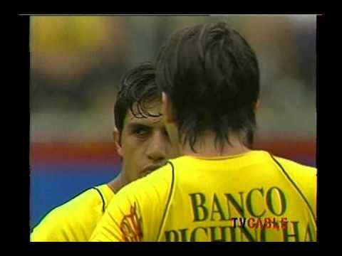 Partido completo - Barcelona 3 Liga de Quito 0 - Campeonato Nacional 2006