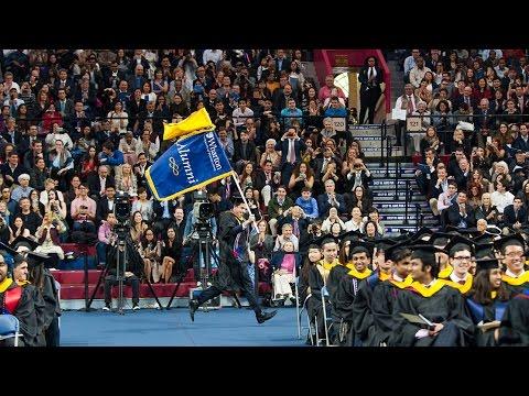 Wharton Undergraduate Graduation Ceremony 2016